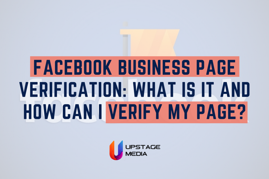 Get Verified on Facebook: Page or Profile